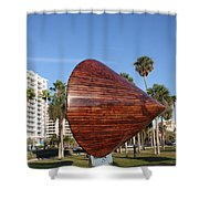 Sarasota - Art 2009 Shower Curtain
