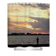 Sarasota 's Sunset Shower Curtain