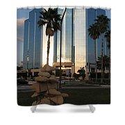Sarasota Waterfront - Art 2010 Shower Curtain