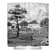 Saratoga, New York, 1794 Shower Curtain