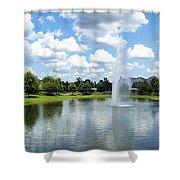 Saratoga Springs Resort Walt Disney World Shower Curtain