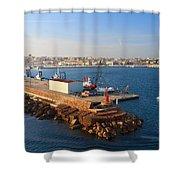 Sardinia - Porto Torres Shower Curtain