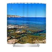Sardinia - Shore In San Pietro Island Shower Curtain