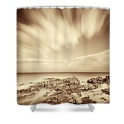 Sardinia - Costa Del Sud Shower Curtain