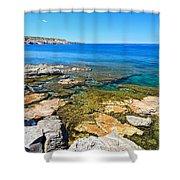 Sardinia - San Pietro Island Shower Curtain