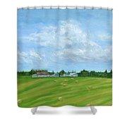 Saskatchewan Summer Shower Curtain