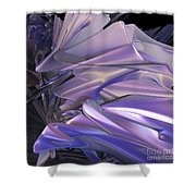 Satin Wing By Jammer Shower Curtain