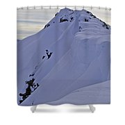 Saturday Hangover Vertical Shower Curtain