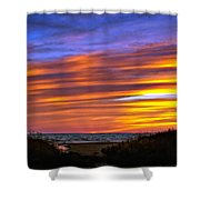Sauble Sunset Shower Curtain