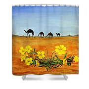 Saudi Arabian Desert Shower Curtain