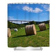 Sauertalbrucke Shower Curtain