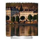 Saumur Reflected Shower Curtain