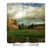 Sauvie Island Farm Shower Curtain
