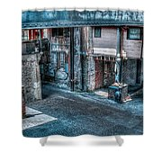 Savannah Alley Shower Curtain