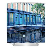 Savannah Blues Shower Curtain