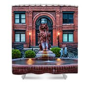 Savannah Cotton Exchange Savannah Georgia Shower Curtain
