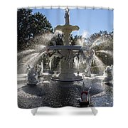 Savannah Winter Dream Shower Curtain