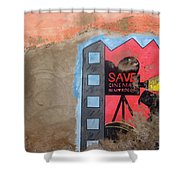 Save Cinema In Morocco Shower Curtain