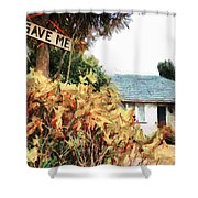 Save Me Shower Curtain