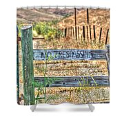 Save Our Farms Shower Curtain