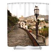Savoca Italy Shower Curtain