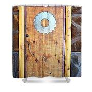 Sawmill Door Shower Curtain