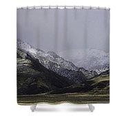 Sawtooth Mist Shower Curtain