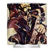 Sax Man One Shower Curtain