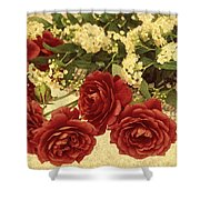 Say You Love Me Shower Curtain