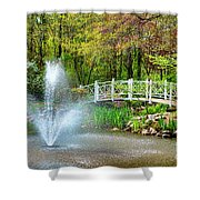 Sayen Garden Impression Shower Curtain