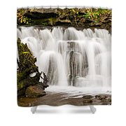 Scaleber Force Close Up Shower Curtain