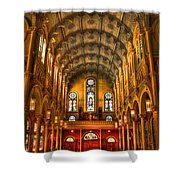 Sacred Heart Cultural Center 2 Shower Curtain