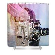 Scarf Camera Shower Curtain