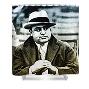 Scarface - Al Capone Shower Curtain