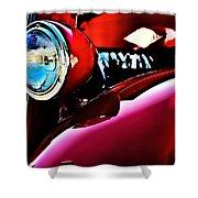 Mercury Coupe Shower Curtain