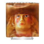 Scary Cowgirl Shower Curtain