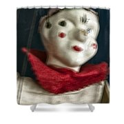 Scary Mary Shower Curtain