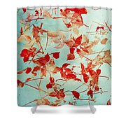 Scattered Impressions Shower Curtain