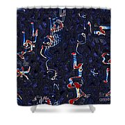 Scattered Thoughts Shower Curtain
