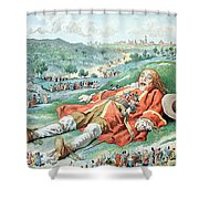 Scene From Gullivers Travels Shower Curtain