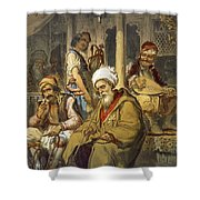 Scene In A Cafe, 1865 Shower Curtain
