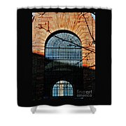 Scene In The Old City, London Shower Curtain