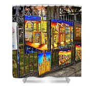 Scenes Of Nola Shower Curtain