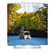 Scenic Autumn Viewing Shower Curtain