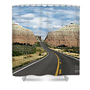 Utah's Scenic Byway 12 - An All American Road Shower Curtain