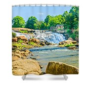 Scenic Falls Shower Curtain