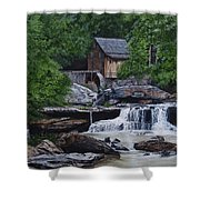 Scenic Grist Mill Shower Curtain