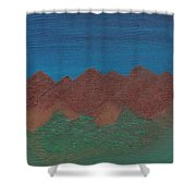 Scenic Mountains Shower Curtain