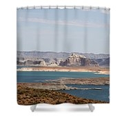 Scenic Lake Powell Shower Curtain