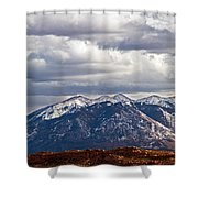 Scenic Moutains Shower Curtain